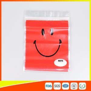 China OEM Custom Printed Ziplock Bags Plastic Grip Seal Poly Bag With Heat Seal wholesale