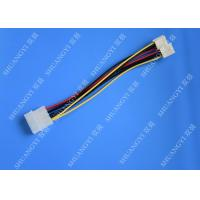 China Hard Drive HDD SSD Cable Harness Assembly , Molex to Dual SATA Power Splitter Cable wholesale