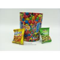 China Metalized Foil Packaging Plastic Laminated Roll Film VFFS Film Roll For Snack / Coffee / Candy wholesale