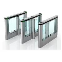 China Luxury High Speed Supermarket Swing Gate , Rfid Card Turnstile Security Systems wholesale