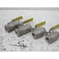 """China Water / Oil / Gas Full bore Floating Ball Valve As NACE Compliance , Size By  1/2"""" # 800 SW wholesale"""