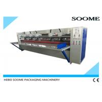 China 17mm Thick Board Slitting Creasing Machine , Corrugated Carton Thin Blade Slitter Scorer wholesale