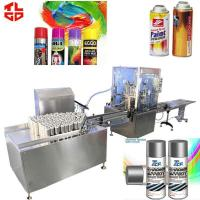 China Automatic Aerosol Filling MachineProduction Line for Spray Paint 2000-3200cans/hr wholesale