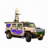 China Vehicle mounted mobile telescopic radio mast tower pole, with IP64 Rating on sale
