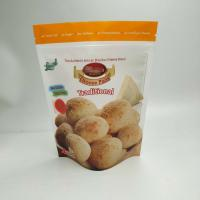 China Healthy And Low Price Custom Printing Cheese Bread Cookies Food Packaging Bags With Zipper wholesale
