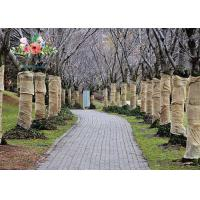 China Heavy Duty Burlap Tree Wrap Brown Landscape supply type Gardening tree protector wholesale
