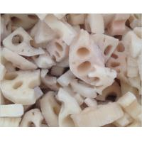 China Fresh Lotus Root Organic Frozen Food Products NO Preservatives Added For Adult wholesale