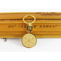 China Retro Stainless Steel Key Ring , Custom Buddhist Gold Plated Key Ring wholesale