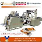 China CY-400 sharp bottom paper bag making machine wholesale