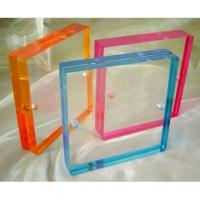 China acrylic sheet photo frame wholesale