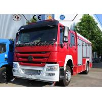 China Professional Water Tank Fire Fighting Vehicle , Rescue Fire Engine Fire Truck wholesale