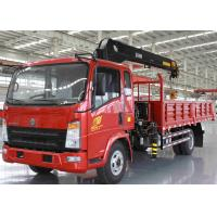 China Saving Energy Truck Mounted Crane With Dual Circuit Compressed Air Brake wholesale