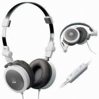 China Noise Reduction Stereo Headphones With Mic / Portable DJ A2dp Headset wholesale