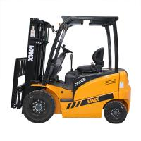 China 2.5T electric forklift with AC motor for driving and DC motor for lifting wholesale
