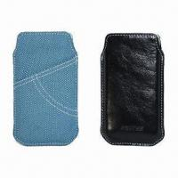 China Pouch for iPhone/New iPhone, Keep in Stock, 100pcs MOQ wholesale