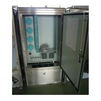 China Stainless Steel Fiber Optical Cross Connection Cabinet wholesale