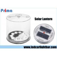 Buy cheap Inflatable LED Solar Lantern / Mobile Phone USB Battery Outdoor Solar Lights from wholesalers