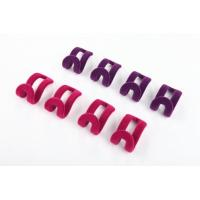 China Colorful Space Saving Velvet Hooks Velvet Non Slip Hangers For Home wholesale