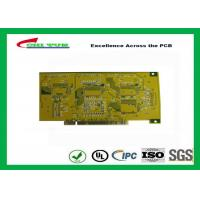 China Gold Finger PCB for Computer 4 Layer PCB Thickness 1.6mm Immersion Gold UL , ROHS , ISO wholesale