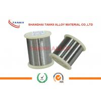 China 0Cr21Al4 Bright Resistance Heating Strip / Nickel Chrome Wire For Resistor wholesale
