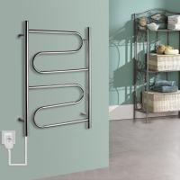 China Pratical Elegant Stainless Steel Wall Mounted Electric Heated  Towel  Rack wholesale