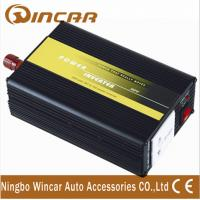 China Overload protection DC 12V Car Power Inverter with Surge power 600 W wholesale