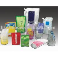 China 500ml PE / PET Side Stand Up Bags With Bottom Gusset For Liquid wholesale