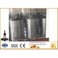 China Mulberry Fruit Wine Fermentation Equipment 304 Stainless Steel Material 12 Months Warranty wholesale