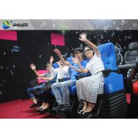 China Private Customized 4D Cinema System Genuine Leather + Fiberglass Material wholesale