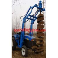 China hole Digger/ Earth Drilling& pile driver wholesale