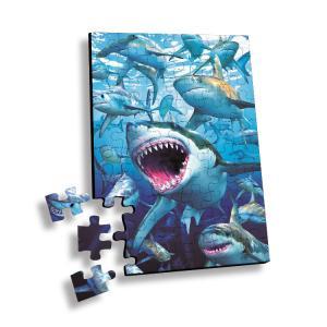 China 100 Piece Plastic 3D Lenticular Printing Puzzle For Souvenir wholesale