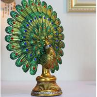 Buy cheap European classic Peacock Spread His Tail craftwork Decoration from wholesalers