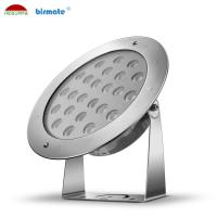 China IP68 Waterproof Swimming Pool Pole Led Light 48W Pure White Color 6500K SMD 3030 wholesale