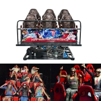 China 2020 Indoor Amusement Park Business Electrical 5D 7D Cinemas Motion Chair With Flame Special Effects wholesale