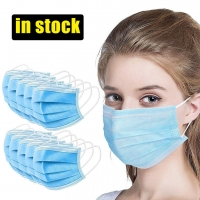 China Adjustable Anti Spitting Disposable 3 Layer Individual Mask wholesale