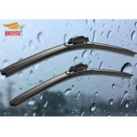 China Q3 Rain Audi Wiper Blades , 21 - 24 Inch Boneless Front Wiper Blade High Performance wholesale