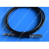 China 40Gb/S QSFP28 Direct - Attach Copper Serial Attached SCSI Cable For Switch 2 Meter wholesale
