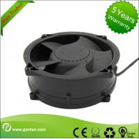 China Brushless 48V DC Axial Fan / Bathroom DC Exhaust Fan High Efficiency wholesale