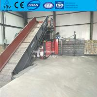 China FDY-1250 fully automatic cardboard baling press machine for recyling waste with CE wholesale