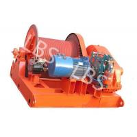 China 10 Ton Electric Winch Machine With Lebus Groove Drum / Electric Crane Winch wholesale