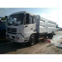 China Dongfeng 4X2 6m3 6cbm runway sweeper truck road sweeper truck with brushes foton sweeping truck wholesale