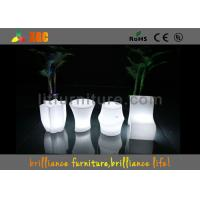 Quality Polyethylene Bar Furniture LED Table And Chairs PE Materials With Wireless for sale