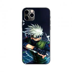 China Custom Lenticular Flip Naruto Phone Case With Anime Images wholesale