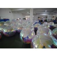 China 1.2m , 1.8m Inflatable Mirror Balloon With Logo Print For Advertising wholesale