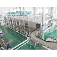Buy cheap Spray continuous pasteurization cooling tunnel from wholesalers