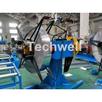 China Manual / Hydraulic Double Head Decoiling Machine With 0-15m / Min Uncoiling Speed wholesale