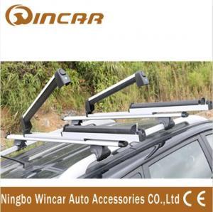 China Aluminum Ski Carrier Snowboard Car Roof Racks for 4x4 automobile wholesale