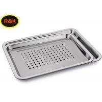 China Perforated Wire Mesh Filing Trays , Wire Mesh Storage Trays Surface Polishing wholesale