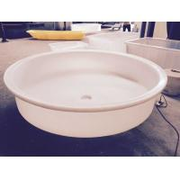 China 2015 new design M1400 PE food grade plastic Cone Round bucket conical plastic water tank wholesale
