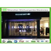 China P6.25 Flexible RGB Transparent LED Screen High Resolution with 6 scaning driver wholesale